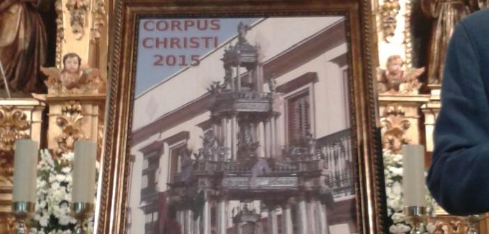 Presentación del cartel anunciador del Corpus Christi 2015