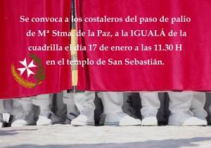 Igualá palio 17 de enero 2016
