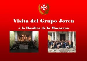 Grupo Joven visita la Basílica de la Macarena
