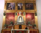 Altar de cultos en honor a María Santísima de la Paz