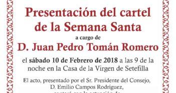 Presentación del cartel de Semana Santa 2018