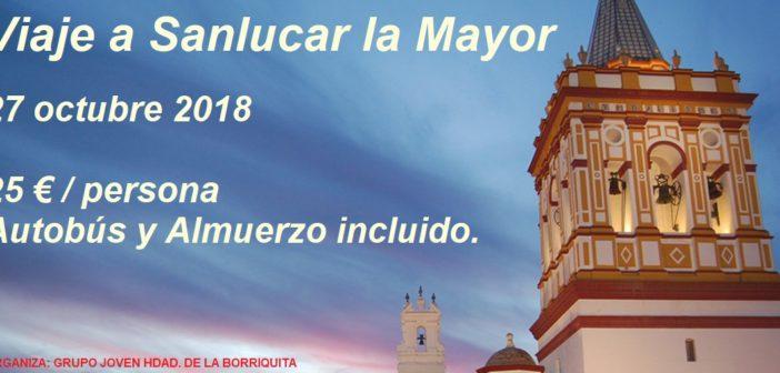 Grupo Joven. Viaje a Sanlúcar la Mayor