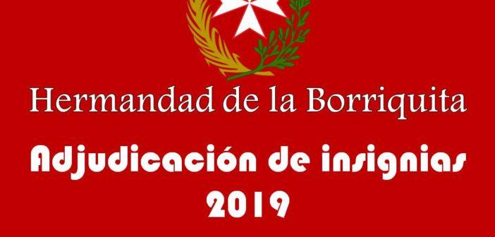 Adjudicación Insignias 2019