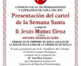 PRESENTACIÓN CARTEL SEMANA SANTA 2020
