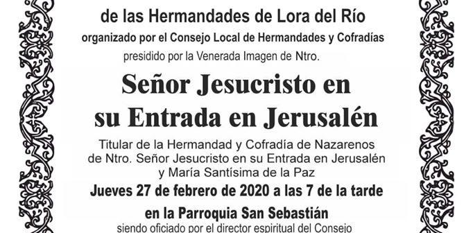 SOLEMNE VÍA CRUCIS DE HERMANDADES DE LORA DEL RÍO